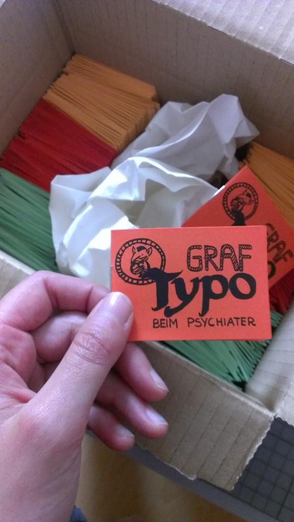 Graf Typo frisch produziert